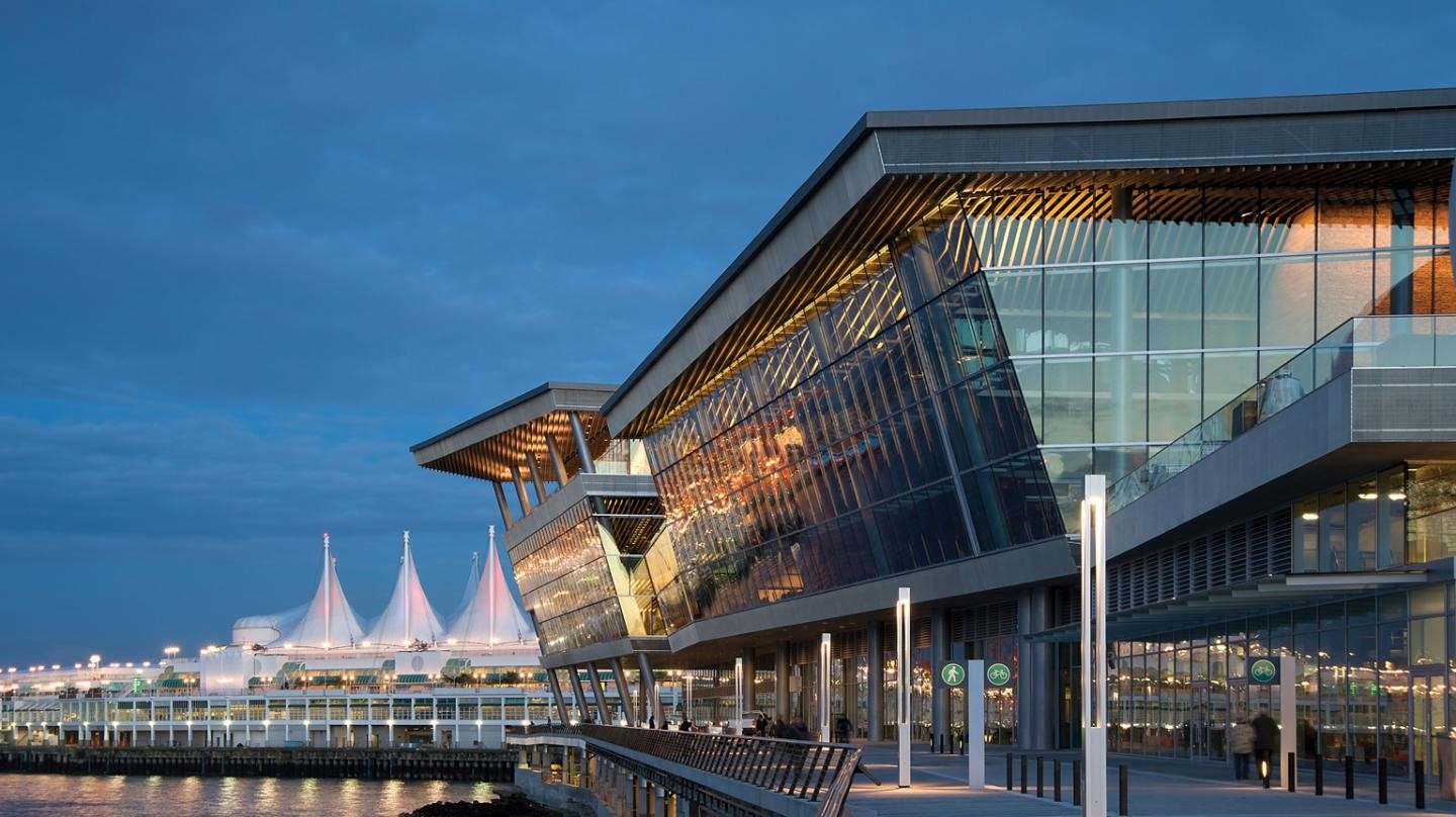 Vancouver convention centre - sustainable materials