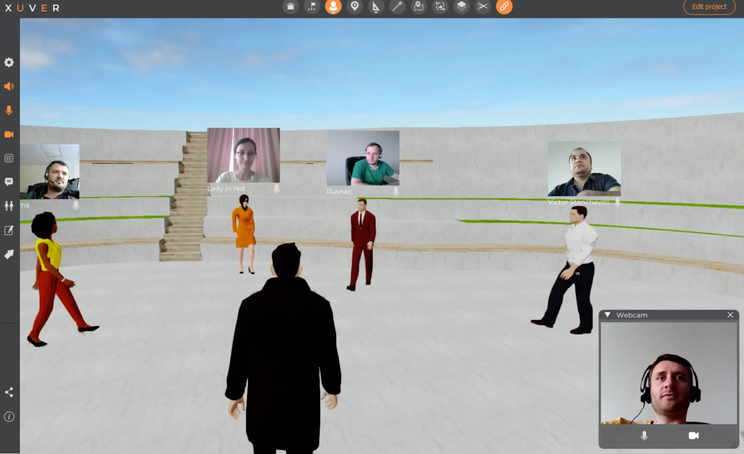 Let your next virtual meeting take place in an inspiring meeting space