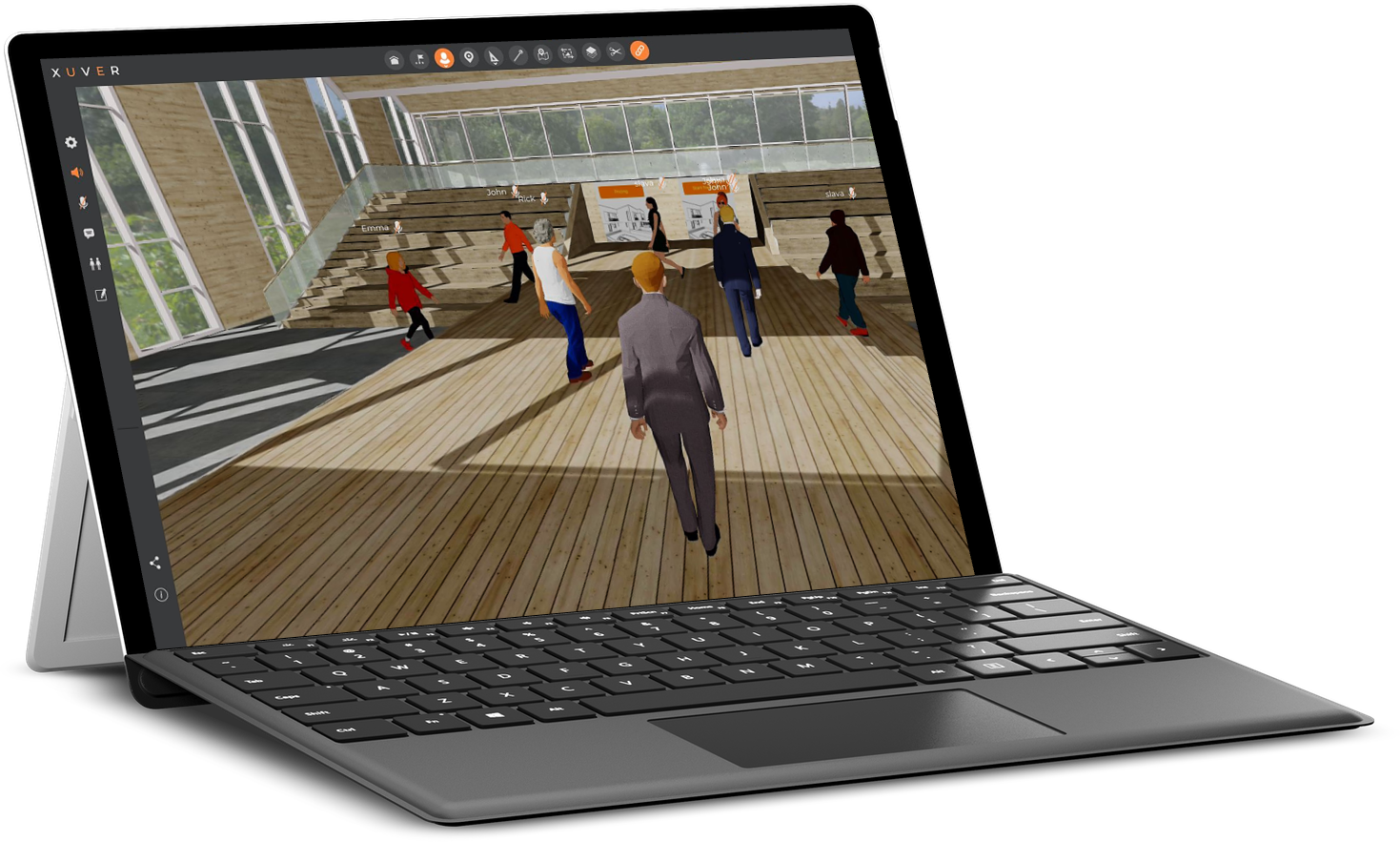 Turn your next online video chat into a custom virtual experience
